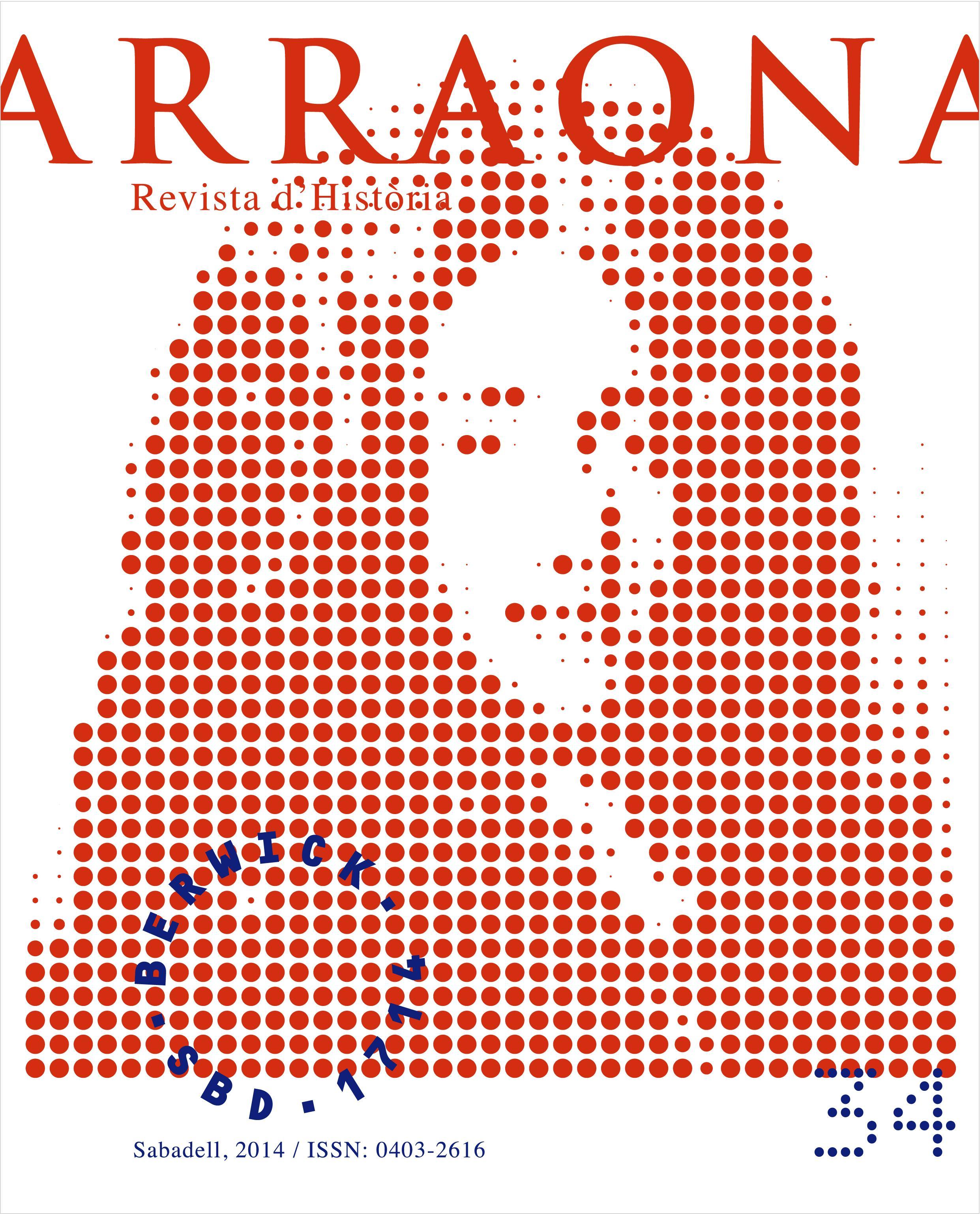 coberta Arraona núm. 34 (2014)