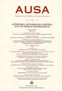 Monogràfic: Astronomia, meteorologia i història